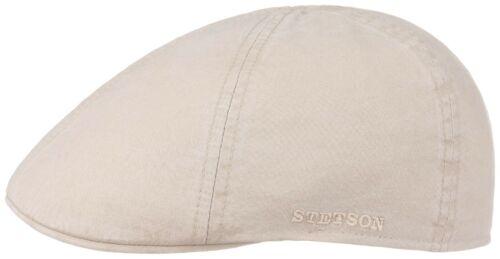 STETSON SUN GUARD ® DUCK IVY FLATCAP CAP KAPPE MÜTZE TEXAS ORGANIC 71 HELLBEIGE