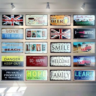 Farm Vehicle Metal Novelty License Plate Tag,Decorative Car Plate Sign Tag Plate 12 X 6 inches ZMKDLL Metal Tin Sign Wall Hanging Decoration Plaque Sign License Plate Tag