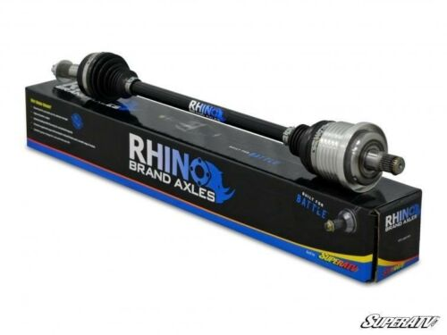2006-12 SuperATV Rhino Brand Stock Length FRONT LEFT Axle for Can-Am Outlander