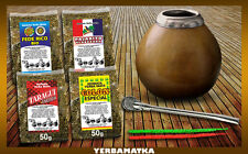 Great set to start your own Yerba Mate adventure: 4x100g + necessary accessories