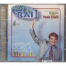 PAOLO LIMITI MANUELA VILLA WILMA DE ANGELIS NILLA PIZZI TIZIANE RIVALE CD SEALED