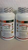 2 Nopalina Flax Seed Plus Fiber (pack Of 2 ) 120 Capsules Omega 3,6,9 04/2017