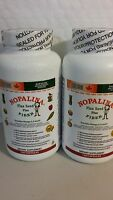2 Nopalina Flax Seed Plus Fiber (pack Of 2 ) 120 Capsules Omega 3,6,9 01/2018