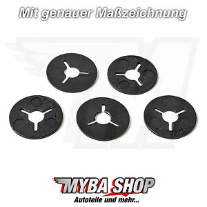 15x-Mounting-Clamping-Discs-Clips-MADE-OF-PLASTIC-FOR-VW-Audi-6N0129355