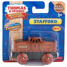 USA STAFFORD Thomas Wooden Train Engine railway NEW