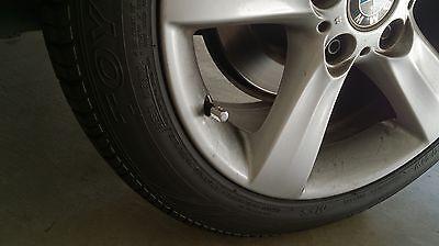 4pc JDM RED Aluminum Wheel Rim Tire Valve Stem Caps Dust Cover Car Cadillac Auto