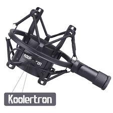 Koolertron 50mm Microphone Shock Mount for 48mm-54mm Diameter Condenser Silver