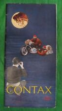 Rare Original Vintage Zeiss Ikon Contax IIa IIIa Brochure Stuttgart Germany