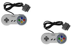 Super-Nintendo-Controller-SNES-Gamepad-Kontroller-Joypad-fuer-Nintendo-Snes