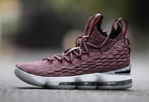 Nike LeBron 15 XV EP QS PRM Wine Red Size 10. 897649-201 Rare  Asia Exclusive