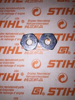 pn 0000 955 0801 Set Of Two M8 Bar Nuts For Stihl MS460 Chainsaw