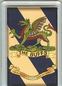 Fridge Magnet Royal East Kent Regiment The Buffs