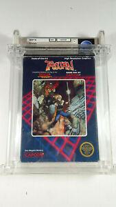 TROJAN-by-CAPCOM-1987-Nintendo-NES-Spiel-Game-CIB-VGC-NO-VGA-WATA-Graded-5-Screw