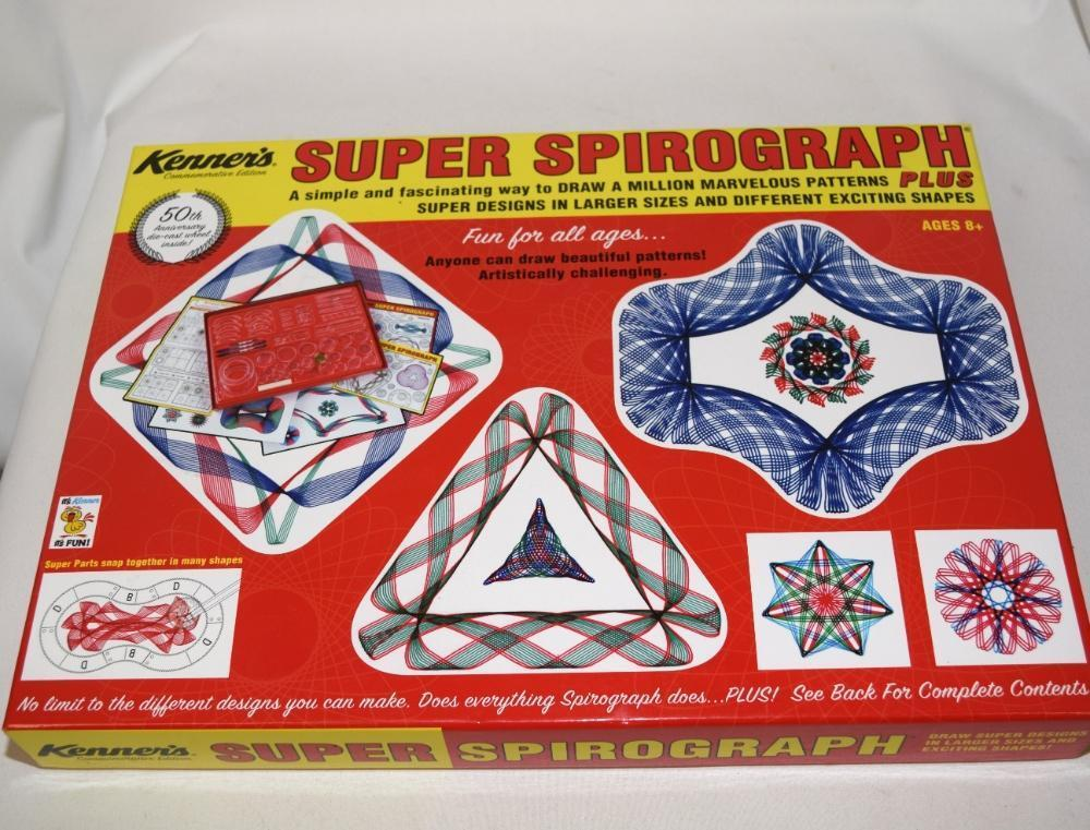 Kenner's Super Spirograph Plus 50th Anniversary ART Design