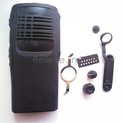 Black Refurb Repair Housing With Speaker For Motorola GP380 2Way Radio