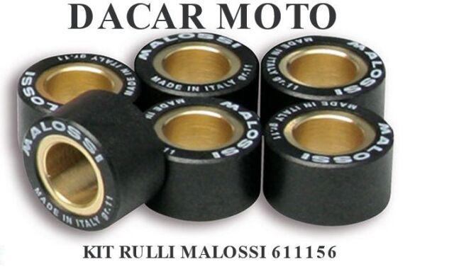 Set Rodillos Malossi Htroll Ø 20x12 Gr 10 Malaguti Madison 150 4t LC 6611156