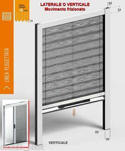 Zanzariera-su-misura-Plisse-x-porte-finestre-MINIMO-INGOMBRO-22mm-Telo-colorato