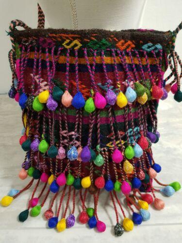 geweldige Hipster handgemaakte unieke tas etnische kleuren Prachtige Kilim Gipsy tas TcF3lK1J