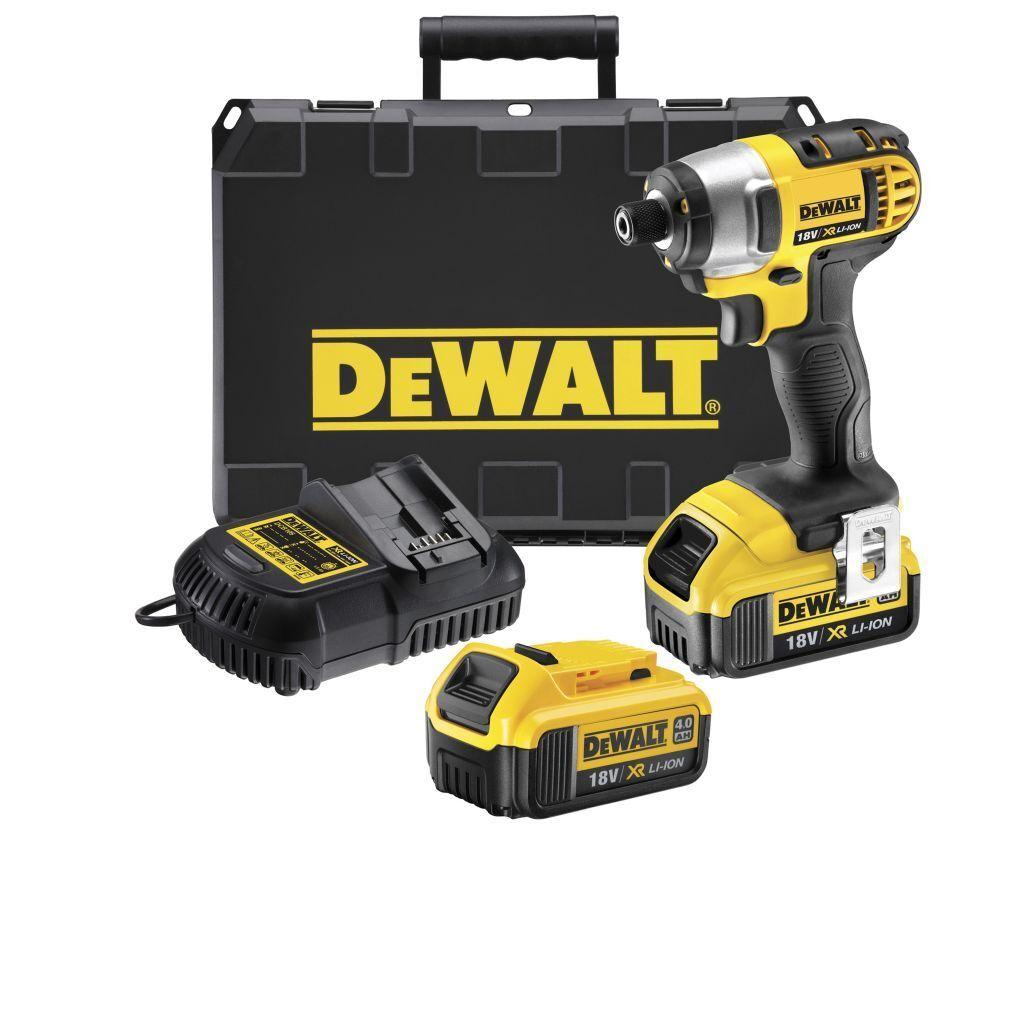 DeWALT  18,0 Volt Akku- Schlagschrauber  DCF885M2  DCF 885 M2  - 4,0Ah - DeWALT
