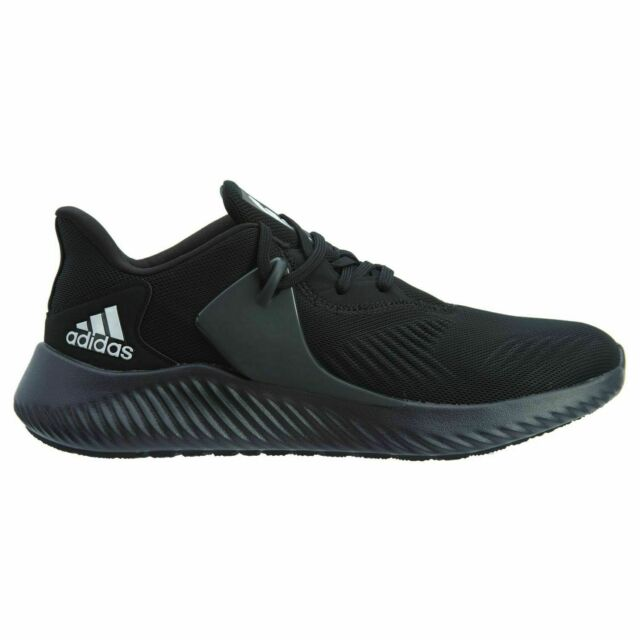 Mens Adidas Alphabounce RC 2.0 Black Running Athletic Shoes BD7091 Size 9.5 11