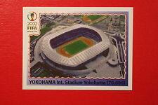 Panini KOREA JAPAN 2002 # 15 YOKOHAMA NEW With BLUE  BACK TOPMINT!!