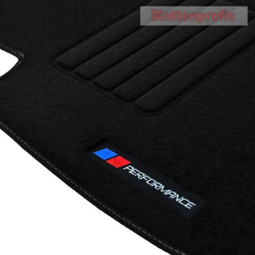 Tappetini professionisti velluto logo PB performance Tappetini Per BMW x6 f16 ab Bj 08//2014