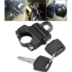 Motorcycle Helmet Lock Anti-theft Security Universal For Harley Davidson US