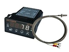 24v Dc 132din Digital Pid Temperature Controller White With K Thermocouple