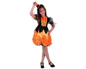 selezione più recente servizio eccellente retrò Dettagli su ATOSA Costume Da Zucca Di Halloween Bambina Taglie Varie  Carnevale Vestito