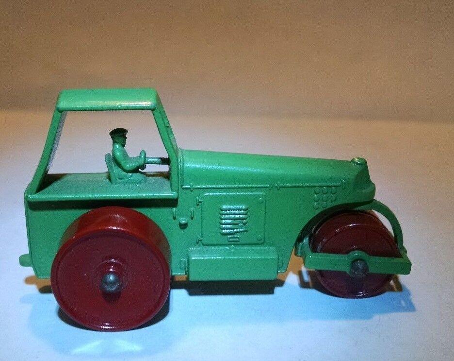 MATCHBOX REGULAR Wheel 1 C Road Roller vert clair 1958