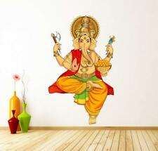 Colorful Lord Ganesh Wall Sticker Mural Decals Vinyl Art Living Room Decors