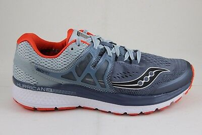 Saucony Men/'s Hurricane ISO 3 Blue//White//Silver S20348-2 Brand New In Box