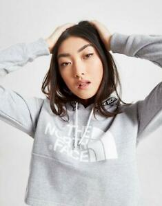 New-The-North-Face-Tape-Crop-Hoodie