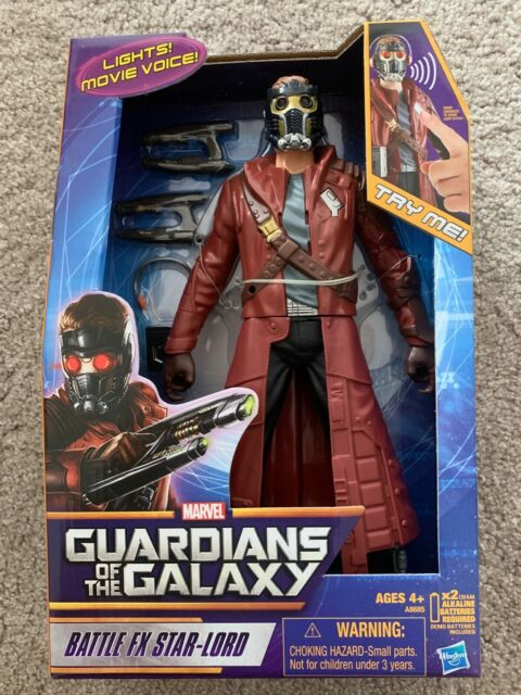 """12/"""" Marvel Guardians of the Galaxy Battle FX Star-Lord Figure"""