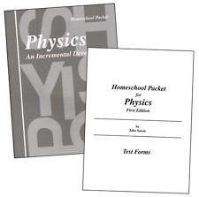 Physics Home Study Set by John Saxon (2001, Hardcover, Reprint)