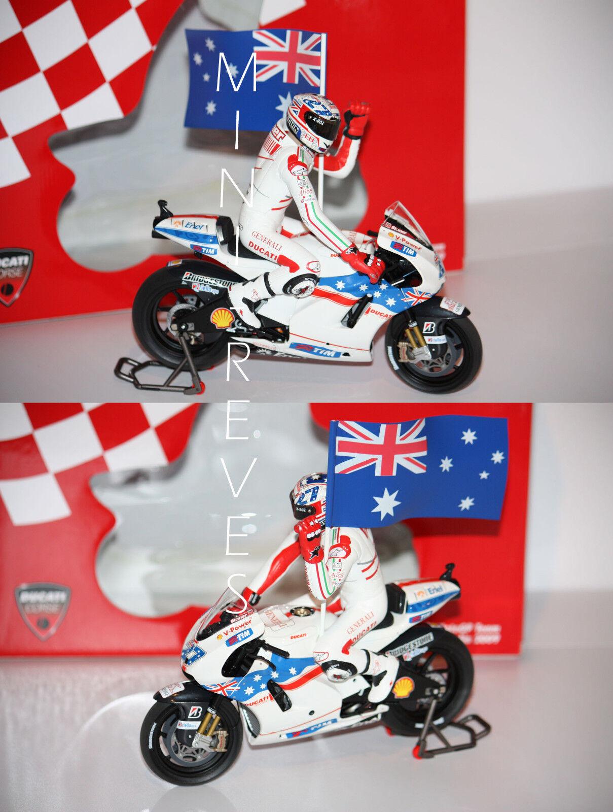 Minichamps MotoGP Ducati Desmocedici GP09 2009 C. Stoner 1 12 122090127