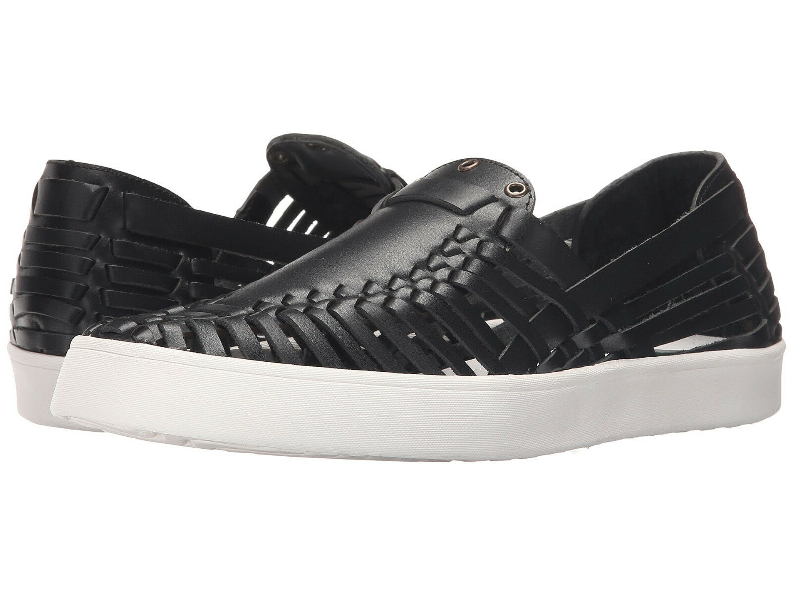 10 Crosby Derek Lam Lia Woven Vachetta Leather Huarache Style Slip On New 8