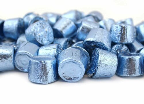 Light Blue Foil Wrap 2Lb Rolo Chewy Caramel Milk Chocolate Candy