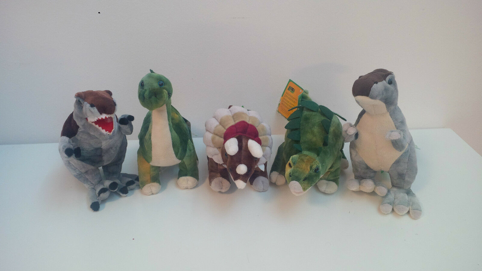 Soft toy Dinosaurs Original Animal Planet 28 cm 5 models T-Rex Triceratops and