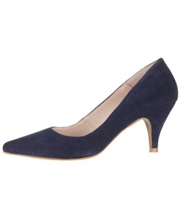 Folies ante para mujer azul azul azul marino señaló Tribunal Zapatos Talla EU 39  tiempo libre