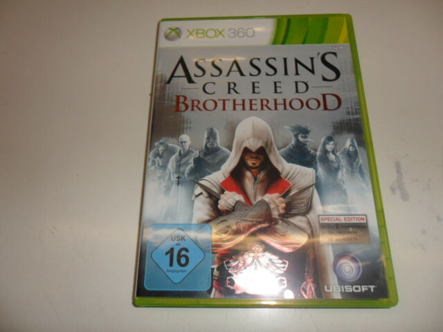 XBOX 360 ASSASSIN'S CREED BROTHERHOOD-d1 version (Uncut)