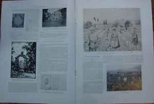 L'ILLUSTRATION 4146 DU 19/8/1922 GRASSE LA CITE DES PARFUMS LE BRITANNIA URVILLE