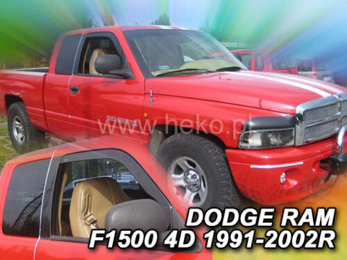 Heko 13413 derivabrisas 2 pzas Dodge Ram 1500 2//4 türig año 1991-2002