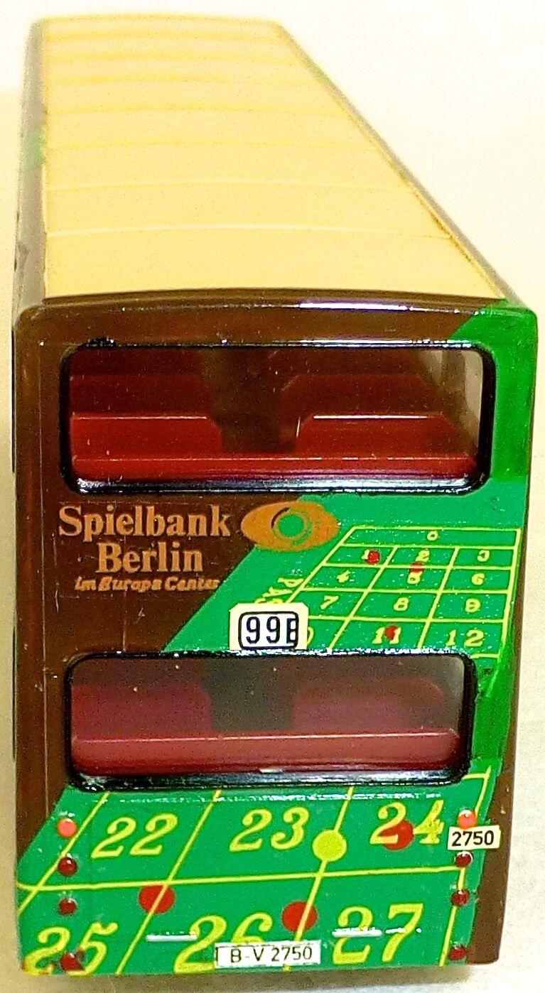 Game Bank Berlin 99E Adgreenising Adgreenising Adgreenising Bus Man SD 200 DETAILED FROM WIKING BUS H0 1 87 0d12e5