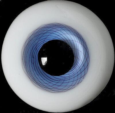Gorgeous colour 8mm Blue Glass BJD Eyes for DOD DZ AOD 1//6 BJD Doll