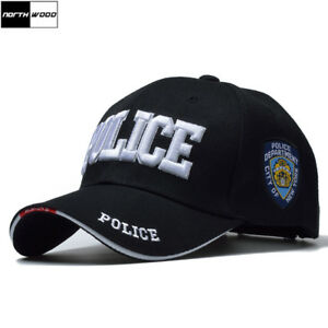 New York City Police Department Tactical SWAT Baseball Cap Snapback Roleplay BN