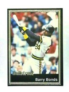 BARRY-BONDS-1991-BALLSTREET-GOLD-FOIL-PROMO-CARD-37-PITTSBURGH-PIRATES
