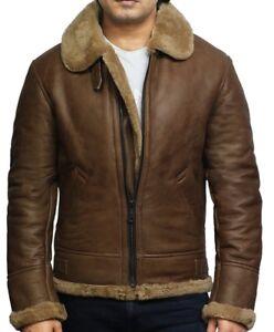 Brandslock Ebay Veste Véritable Mouton Peau De Ricardo Cuir Homme rrq8wB
