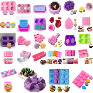Silicone-Soap-Mold-Ice-Cube-Cake-Decor-Candy-Chocolate-Cookies-Baking-Mold-Mould