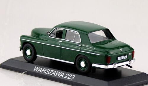 Warszawa 223 VERDE SCURO BLISTER 1:43 ALTAYA modello di auto